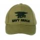 Berretto cotone ricamato Navy Seal