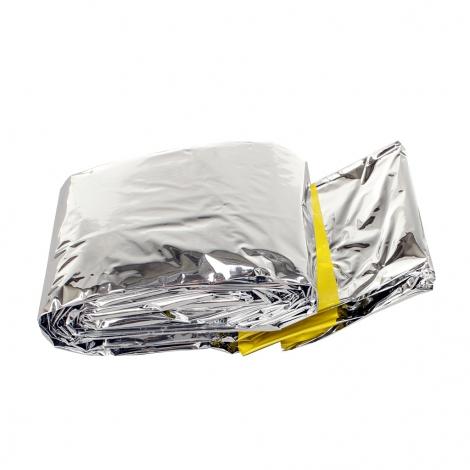 Sacco a pelo alluminio emergenza