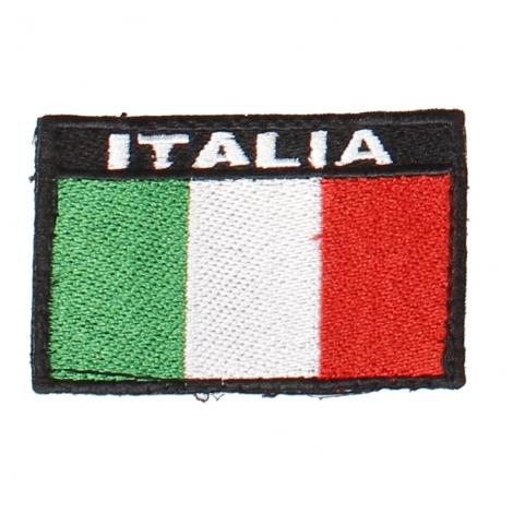 Etichetta Italia con velcro