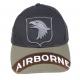 Berretto Airborne bicolore