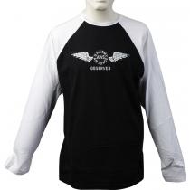 T-Shirt stampata bicolore