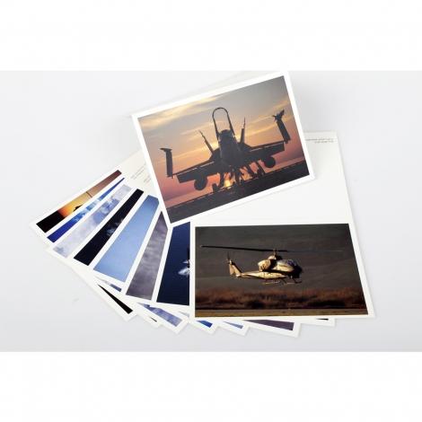 10 pezzi miste Cartolina pieghevole