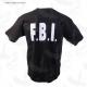 T.Shirt nera FBI