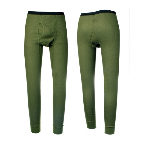 Pantalone termico oliva SBB