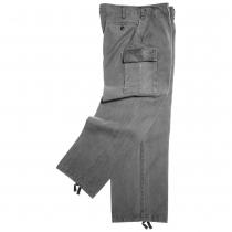 Pantalone moleskin stone washed grigio
