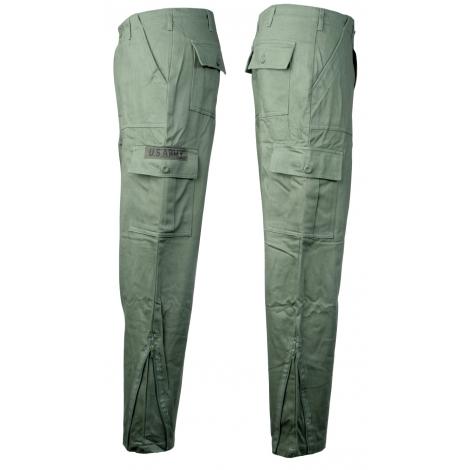 Pantalone 6T C/C felpato oliva II