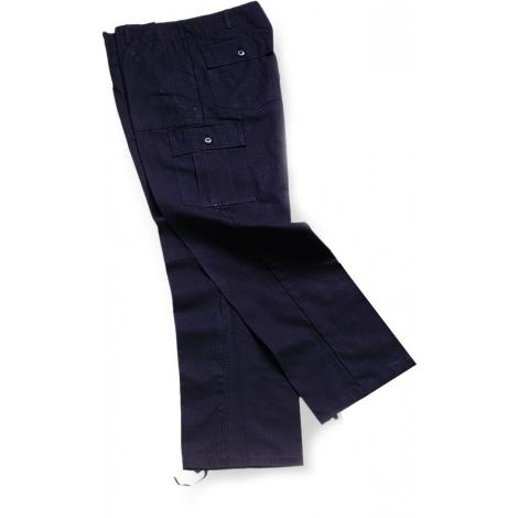 Pantalone 6T ripstop nero