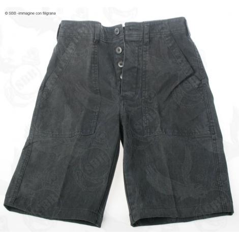 Pantaloncino 2 tasche nero