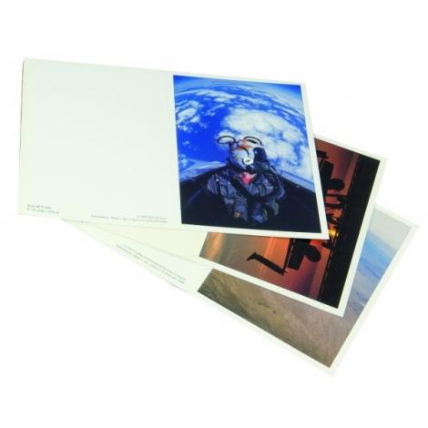 Cartolina pieghevole assortite