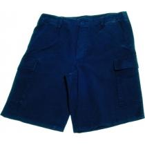 Pantaloncino moleskin stone washed blu