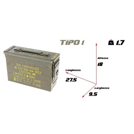 Cassetta portamunizioni piccola tipo 1