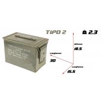 Cassetta portamunizioni media tipo 2