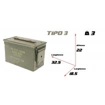 Cassetta portamunizioni tipo 3