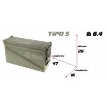Cassetta portamunizioni large tipo 5