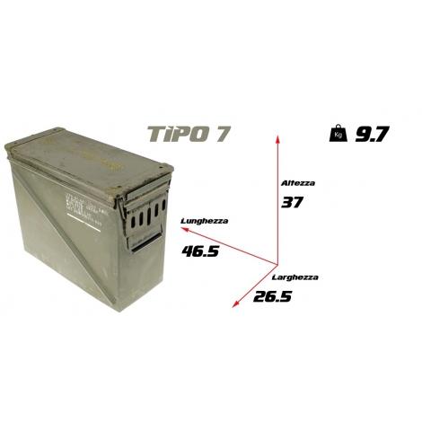 Cassetta portamunizioni large tipo 7