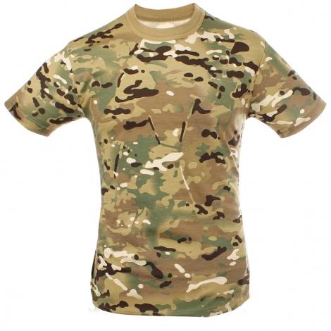 T-Shirt cotone Multicam SBB