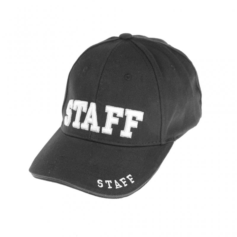 Berretto cotone ricamato STAFF - SBB Brancaleoni Srl afaf1ced4019
