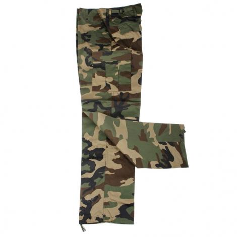 Pantalone BDU K Woodland camo
