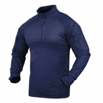 Tactical shirt navy blu