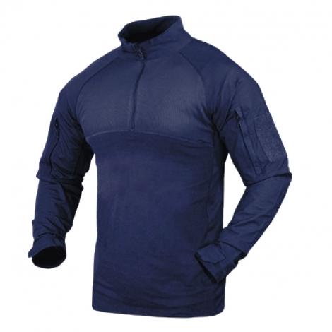 Tactical shirt navy blu