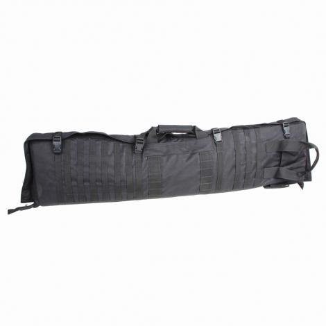 Porta fucile sniper c/materasso da tiro 131 Nero