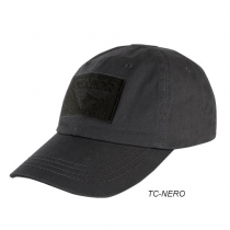 Berretto cotone tactical nero