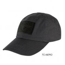 Berretto cotone tactical nero