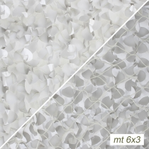 Rete camo neve con supporto mt.6x3