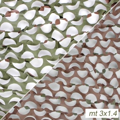 Rete woodland camo senza supporto mt.3x1.4