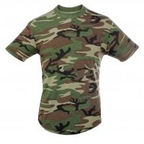 T-Shirt cotone camo