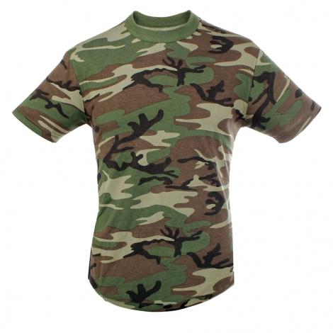 T.Shirt cotone camo SBB