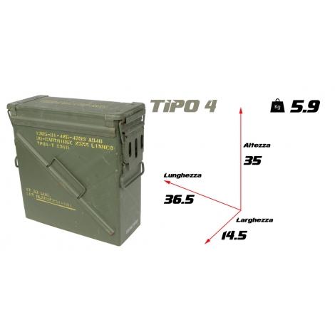 Cassetta portamunizioni tipo 4