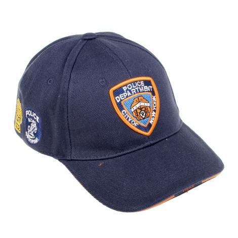 Berretto cotone NYPD - SBB Brancaleoni Srl 45fe96adcca4